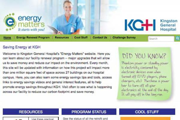 Kingston General Hospital - Energy Matters